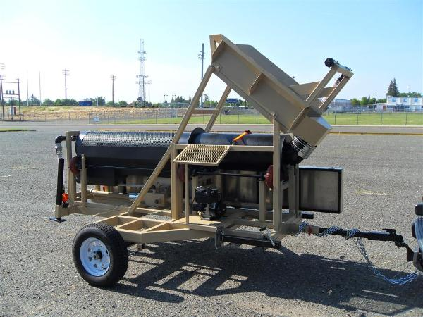 portable gold trommel Heckler Fabrication