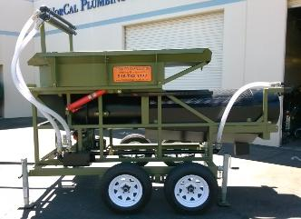 24 inch portable gold trommel wash plant 20-25 yard per hour