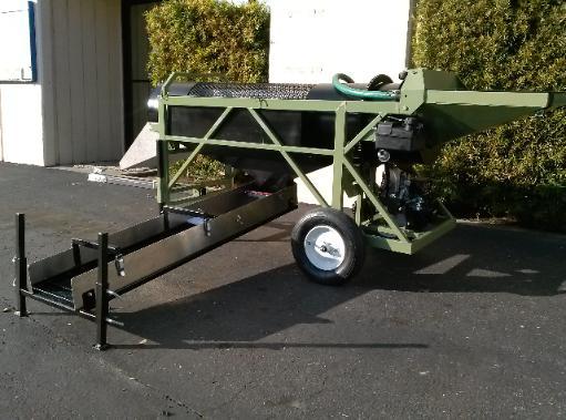 Mini Wash Plant : Diesel or gas mini gold trommel wash plant by heckler