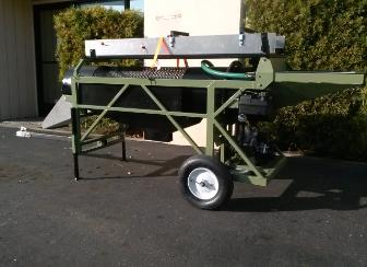 portable gold trommel wash plant