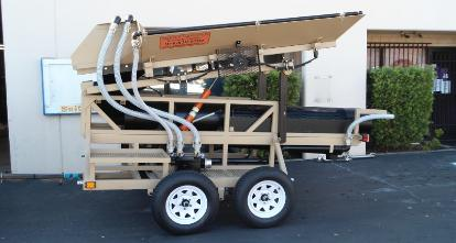 Portable Gold Trommel by Heckler Fabrication