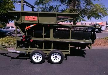 Portable Gold Trommel Wash Plant Model # 3610