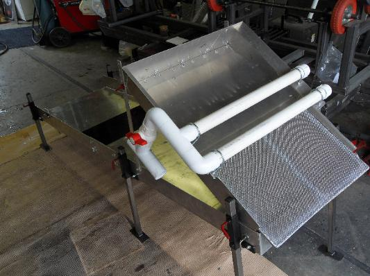 Pics of Homemade Gold Sluice Boxes
